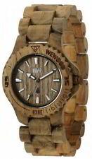 Wewood Holzuhr Uhr Damen Date Teak Armbanduhr WW01009