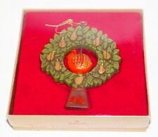 Vintage M.I.B. Hallmark 1976 Partridge Tree Trimmer Ornament