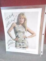 (2) 8x10 signed photo w/AUTOGRAPH - LILIAN GARCIA - WWF WRESTLING DIVA