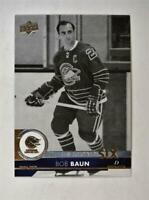 2017-18 17-18 Upper Deck UD Series 1 The Second Six #S6-1 Bob Baun