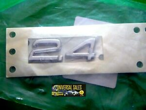 2.4 C30 C70 S40 S60 S70 S80 V50 V70 VOLVO EMBLEM BADGE DECK LID TRUNK OEM NEW