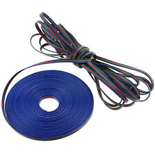 4 Pin RGB RGBW LED Strip Extension Connector Cable Wire 5050 3528 20m