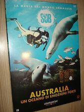 DVD N° 9 SUB LA MAGIA DEL MONDO SOMMERSO AUSTRALIA UN OCEANO DI EMOZIONI FORTI