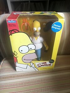 Faces Of Springfield Deluxe Figure Homer Simpson Playmates Sealed