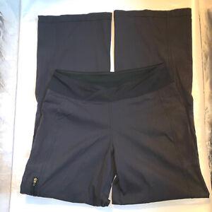 Reebok Women's Black Jogging Pants Size Small Workout Gear 31 In Inseam