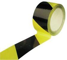 WARNBAND Absperrband selbstklebend gelb / schwarz 66m Klebeband