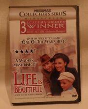 Life Is Beautiful, 3 Academy Award Winner, Dvd, Case & Case Cover Artwork, o