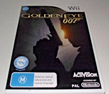 Goldeneye 007 Nintendo Wii PAL *Complete* Wii U Compatible