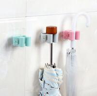 Wall Mounted Mop Umbrella Holder Brush Broom Hanger Storage Rack Kitchen Tool D