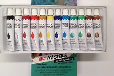 Artist's 12ml Acrylic Paints Set of 12 Assorted Colors Artist Art High Quality U