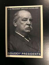 2008 Upper Deck Goudey Grover Cleveland SP #239 Presidents