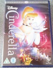 CINDERELLA*DVD*CLASSIC DISNEY FAMILY FILM*MOVIE*ANIMATION*RATED U