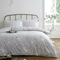 Doves Pattern Flannel 100% Brushed Cotton Thermal Duvet Cover Set Bedding Set