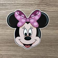 """Minnie Mouse 4"""" Wide Vinyl Sticker - BOGO"""