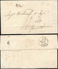 GB 1826 PROVINCIAL POST VERY CLEAR LETTER and POSTMARK to PLYMOUTH