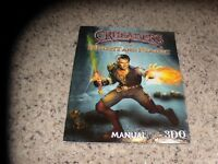 Crusaders of Might and Magic manual only - no game