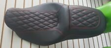 Harley-davidson Street/road Glide Seat Cover Red Stitching