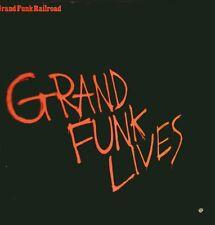 "GRAND FUNK RAILROAD "" LIVES  "" LP NUOVO  ELEKTRA-ASYLUM 1981"