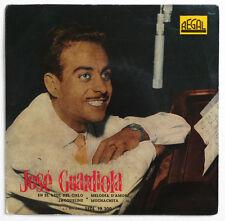 JOSE GUARDIOLA En el azul del cielo spanish spain 1958 regal SEDL 19200 EP