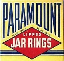 VTG Paramount Lipped Rubber Jar Rings For Canning Jars