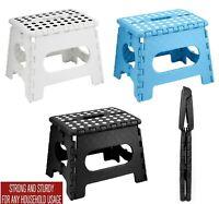 Strong Folding Step Stool Strong Anti Slip Grip Home Kitchen Bathroom Kids Handy
