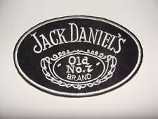 WHISKY JACK DANIELS OVALE PATCH ECUSSON BRODE THERMOCOLLANT