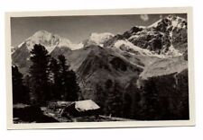 Italy - Gruppo dell' Ortler - Vintage Real Photo Postcard