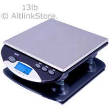 SAGA DIGITAL POSTAL SCALE 13LB X 0.1OZ/1G MAILING KITCHEN SCALE FOOD POSTAGE W/S