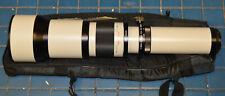 Samyang MZ-5000 650-1300mm f/8.0-16.0 Zoom Lens White