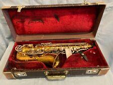 Vintage King H. N. White Zephyr Alto Saxophone 1960-61 Serial number 372481