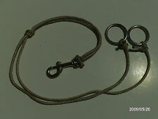 MARTINGALE RINGS POLY ROPE WESTERN HORSE AID BRIDLES AW LEATHER GOODS