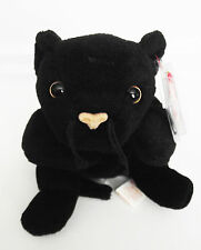 TY BEANIE BABY VELVET CAT PVC 4TH GEN HANG 4TH GEN TUSH TAGS ERRORS RETIRED NEW