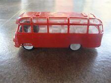 Vintage Rare Robur Lo 2500 Bus friction toy 60's
