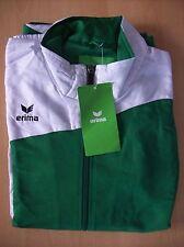 Jacket Erima Club 1900 Presentation Jacket Green & White Size 16 New with Tags
