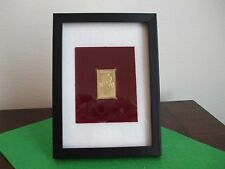 Ida B. Wells - Replica 22kt gold surface collectors stamp - February 1,1990