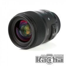 NEW Sigma AF 35mm f/1.4 DG HSM Art Lens For Canon