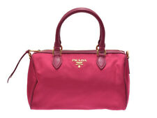 PRADA 2WAY mini Boston pink 1BB797 Hand Bag 802000153353000