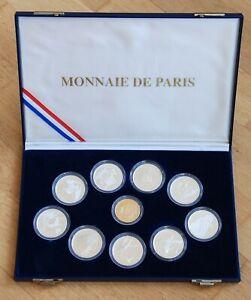 Coffret ALBERTVILLE 500 OR +100 FRANCS ARGENT Jeux Olympiques 1992 Monnaie Paris