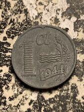 1944 Netherlands 1 Cent Lot#Q7920