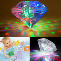 Bathroom LED Light Kids Color Changing Ball Funny Waterproof In Tub Bathing Toy