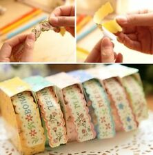 Floral Sticker Tape Retro Pastoral Stationery Craft Paper DIY Diary 1pc ♫