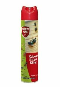 Kybosh Flying  Insect killer Kills Flies Mosquito Fleas Bed Bugs Ant 400ml Spray
