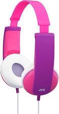 JVC HA-KD5 Headphones - White/Pink