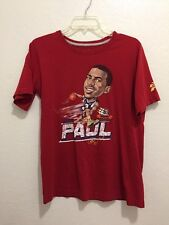 NIKE AIR JORDAN Chris Paul #3 Short Sleeve Shirt Boys Size Extra Large (20) XL