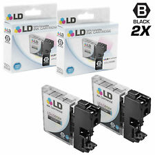 LD © for Brother LC-65 LC65 2pk HY Black MFC 5890CN 5895CW 6490CW 6890CDW