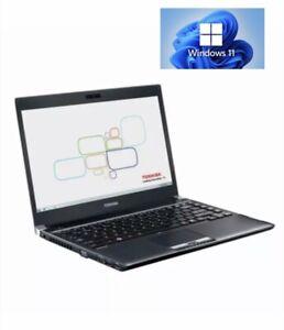 Toshiba Laptop Portege R930 13.3' i5-3320M 8GB RAM 320 GB HDD Windows 11 Pro