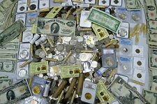 SUPER ESTATE COIN LOT! 30 ITEMS! PCGS,NGC,ANACS,SILVER,GOLD,BULLION,100+YEARS!!!