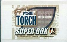 2005 ITG Passing the Torch Super Box Complete Set Martin Brodeur Patrick Roy