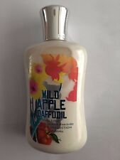 Bath & Body Works Wild Apple Daffodil Body Lotion 8 oz / 236 mL RARE!