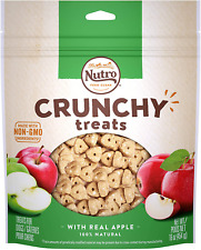 Nutro Crunchy Natural Biscuit Dog Treats With Real Apple Flavor 16 Ounces